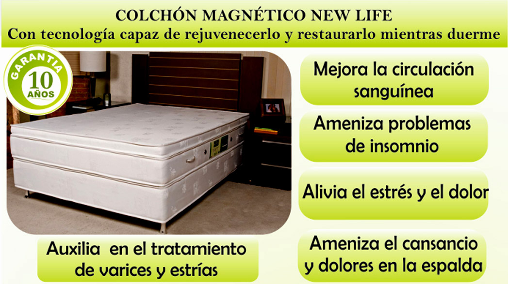 Colchon Terapeutico New Life ideal